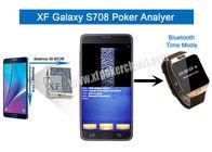 Gute Qualität Unsichtbare Spielkarten & Metall-/Plastiks708 drahtloser Kamera-Schürhaken-Analysator mit ein oder zwei Plattformen disponibles à la vente