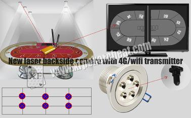 Rückseite-Kamera-Spielkarte-Scanner weiße Licht-Lasers mit Übermittler 4g Wifi